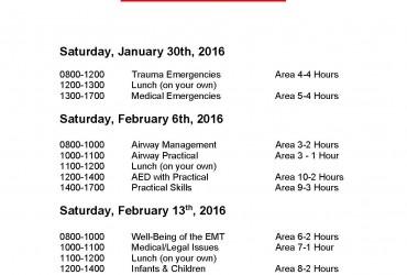 BLS Power Saturdays – 1/23 Class Rescheduled