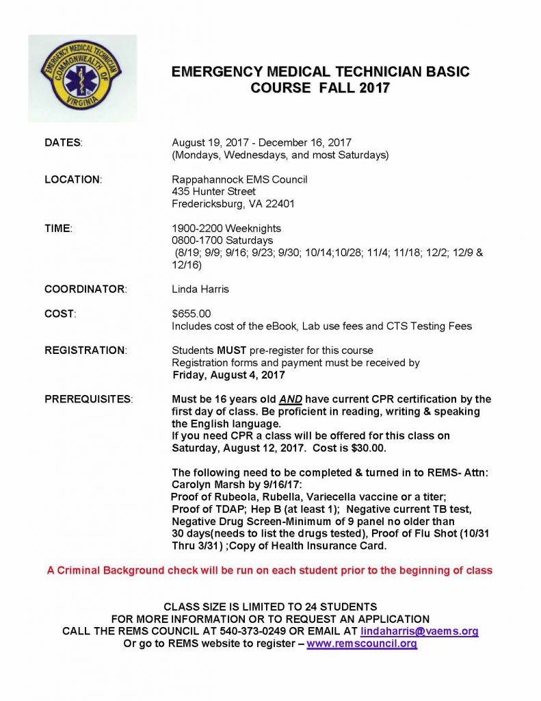 Emt Basic Certification